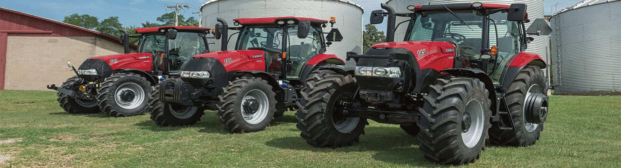 Maxxum tractors by Case